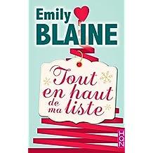 Tout en haut de ma liste : la nouvelle romance de Noël signée Emily Blaine