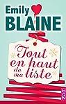 Tout en haut de ma liste par Blaine