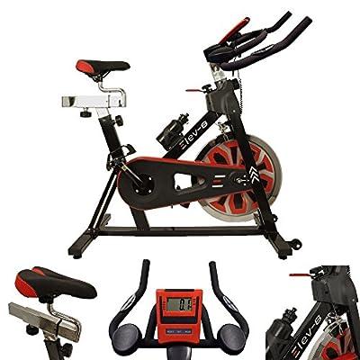 Esprit Fitness Unisex's Elev-8 Exercise Bike, Black, large by Esprit Fitness