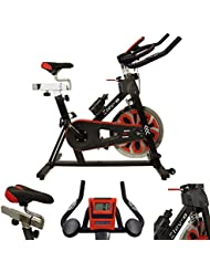 Esprit Fitness Unisex's Elev-8 Exercise Bike, Black, large