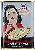 El Avion Pimentón Dulce Ahumado - süßes Paprikapulver, geräuchert aus Spanien/Valencia in einer attraktiven Dose, 2er Pack (2 x 160 g)