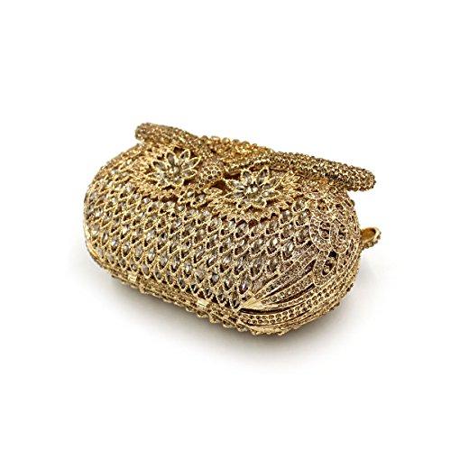 MOGOR, Poschette giorno donna medium, Gold (oro) - ABC-300 Gold
