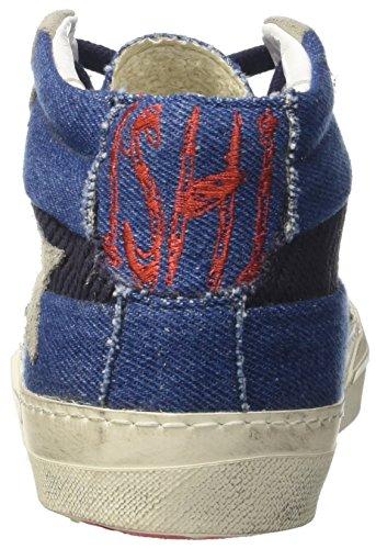 Ishikawa Marti, Sneaker a Collo Alto Unisex-Adulto Blu (Blu Jeans)