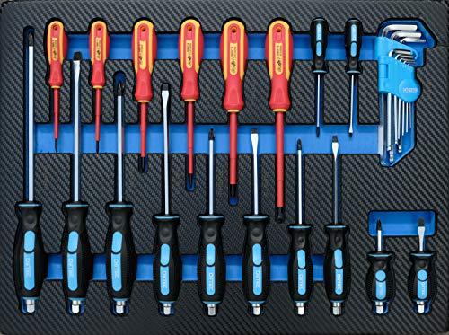DeTec. Werkstattwagen blue Edition inkl. Werkzeug - 9
