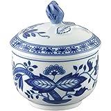Hutschenreuther 02001-720002-14330 - Zuccheriera per 6 persone, 0,25litri, motivo: cipolle, colore: blu