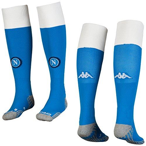 SSC Napoli Medias de local azules, azul, 10