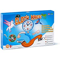 HAPIDS Clock Race A Creative Board Game about learning to tell the time. This Card Game is an interactive way to have fun whilst also understanding the concept of time.