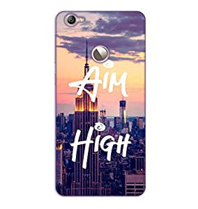 Happoz Letv LeEco 1s Cases Back Cover Mobile Pouches Shell Hard Plastic Graphic Armour Premium Printed Designer Cartoon Girl 3D Funky Fancy Slim Graffiti Imported Cute Colurful Stylish Boys D419