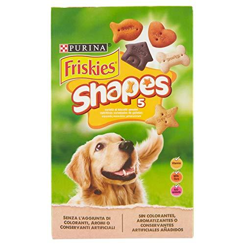 Purina Friskies Shapes Biscotti per Cane con l'Aggiunta di Vitamine, 800 g