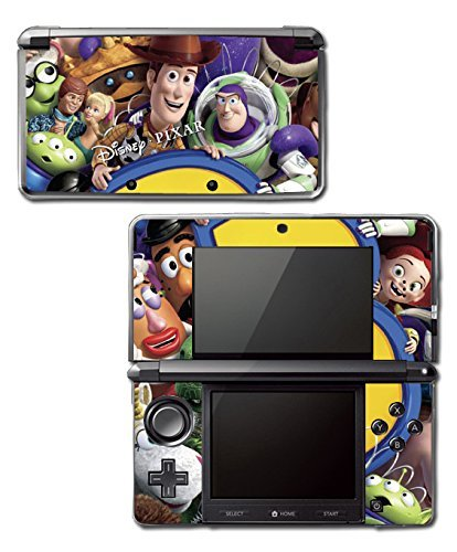 Toy Story 1 2 3 4 Buzz Lightyear Woody Jessie Barbie Ken Video Game Vinyl Decal Skin Sticker Cover for Original Nintendo 3DS System by Vinyl Skin Designs