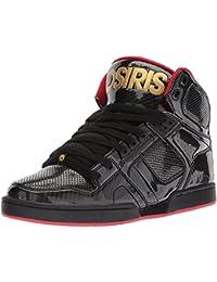 Osiris Relic - Zapatillas de skateboarding de sintético para hombre negro BLK/CHR/BLK 41 t3OaS2C1a