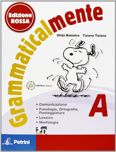 Grammaticalmente Ed. Rossa - Vol.A + B + CD-ROM + Palestra INVALSI