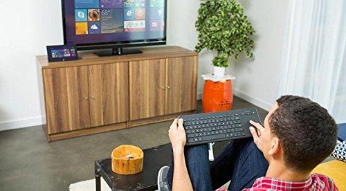 Microsoft All-In-One Media Keyboard - Clavier sans Fil AZERTY - Noir