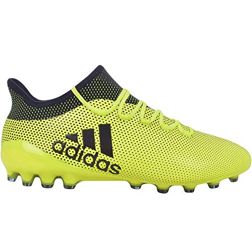 adidas Herren X 17.1 AG Fußballschuhe, Gelb (Amasol Tinley), 44 2/3 EU -