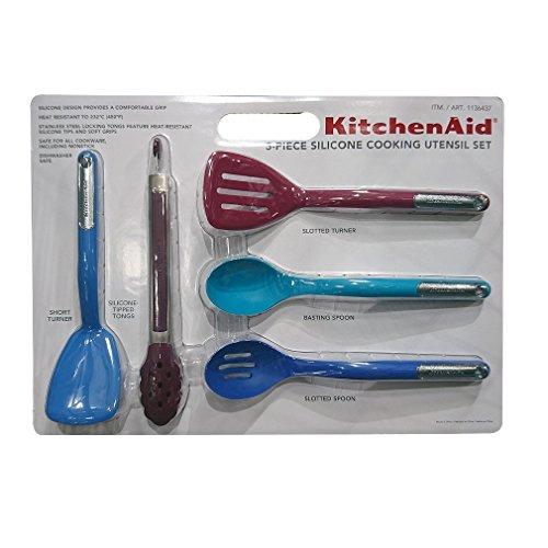 KitchenAid 5-piece Silicone Cooking Utensil Set