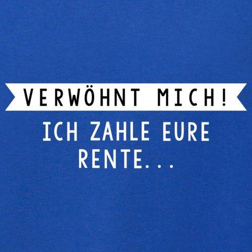 Verwöhnt mich! Ich zahle eure Rente - Herren T-Shirt - 13 Farben Royalblau