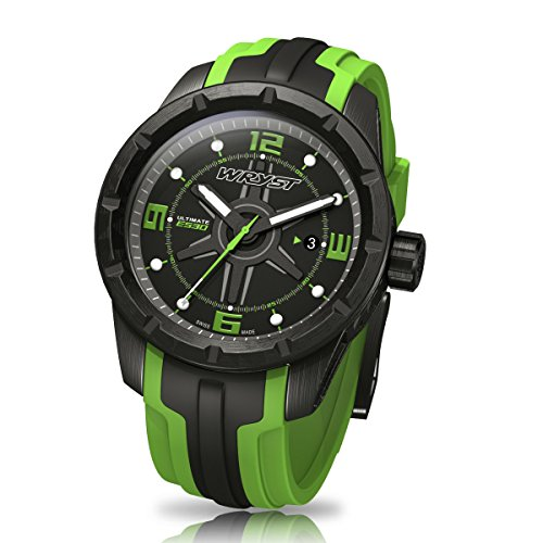 black-and-green-swiss-sport-watch-wryst-ultimate-es30-for-extreme-sports