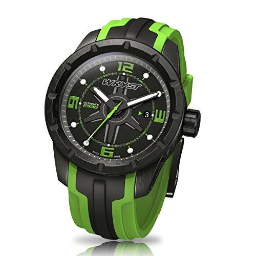 schwarz-und-grun-schweizer-sport-armbanduhr-wryst-ultimate-es30-fur-extreme-sports