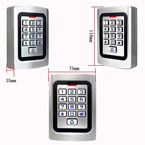 Zoom IMG-3 retekess k10em w controllo accessi