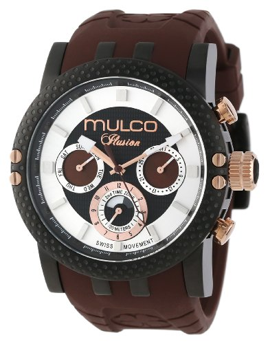MULCO Homme MW3-11169-035 Lincoln Illusion Chronographe Analogique Swiss MoveHommet Montre