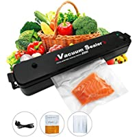 Vacuum Sealer Machine One-Touch Automatic/Manual Food Sealer for Dry/Moist Food Preservation Include 15pcs Vacuum Storage Bags