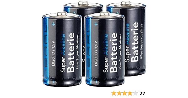 Pearl Batteries Lr20 Economy Pack Alkaline Batteries Elektronik