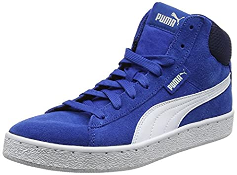 Puma Unisex-Kinder 1948 Mid Jr Low-Top, Blau (True Blue White 13), 36 EU