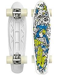 Street Surfing monopatín Fuel tarjeta de Skeleta Ectron, Negro, 55 cm, 500290