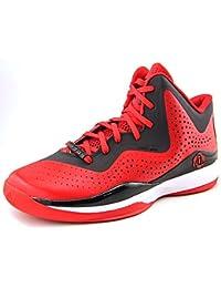 designer fashion 5c172 82d68 adidas D Rose 773 III Mens Basketball Shoe 10 Black-Scarlet