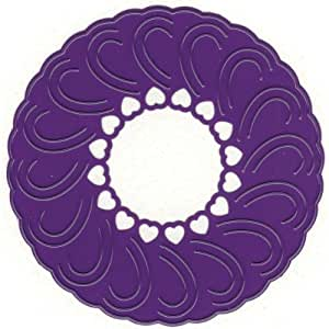 Marianne Designs Lace Dies-Rosette With Love by Ecstasy Crafts (English Manual)