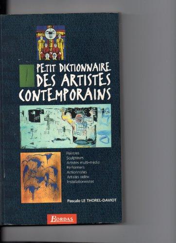 Petit dictionnaire des artistes contemporains