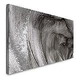 Paul Sinus Art GmbH Abstrakte Kunst 120x 50cm Panorama Leinwand Bild XXL Format Wandbilder Wohnzimmer Wohnung Deko Kunstdrucke