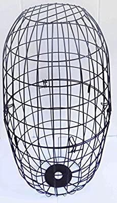 Large Metal Squirrel Proof Blocking Wire Cage for Wild Bird Feeders - Guard by Ruddings Wood