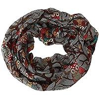 ERQINGWJ Schal Frauen-Damen-Eulen-Muster-Druck-Schal-Warmer Verpackungs-Schal Hijab Hals-Schals Für Frauen-Damen-Zufälliger Herbst-Winter