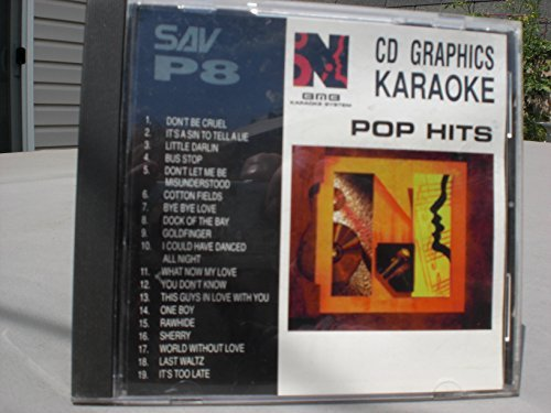 nutech-sav-p8-karaoke-cdg-19-song-disk-by-elvis-presly-tony-bennett-the-diamonds-the-beatles-animals
