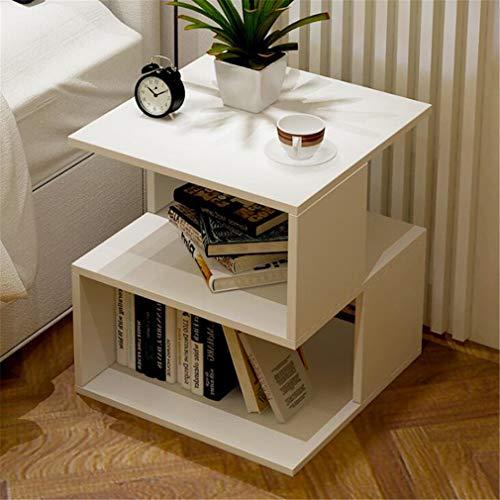 Panda Mobile (STEAM PANDA Einfacher Kleiner Tisch Nachttisch Mini Mobile Kleiner Couchtisch Wohnzimmer Sofa Schlafzimmer 40x40x43.6cm C)