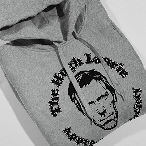 The Hugh Laurie Appreciation Society Men's Hooded Sweatshirt Heather Grey