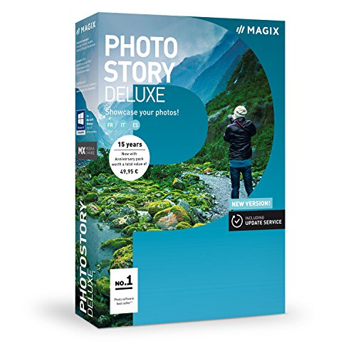 Magix ANR007786BOX Photostory Deluxe - Version 2018