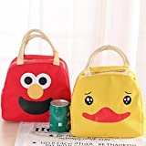 Epyz Polyester Red Portable Insulated Cartoon Animal Lunch Bag