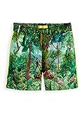 Scotch & Soda Shrunk Jungen Badeshorts All-Over Printed Swim Shorts in Sporty fit, Mehrfarbig (Combo J 589), 104 (Herstellergröße: 4)
