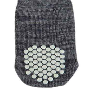 Trixie Chaussettes pour Chien Anti-Dérapant L-XL 2 Pièces Gris