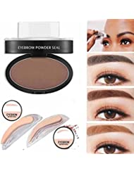 TOPBeauty3 Paires Imperméable à l'oeil Crayon de sourcils Poudre Perfect Eyebrow Power Eye Brow Powder Ligne Forme Frisé Unie Sourcil