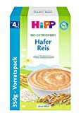 HiPP Bio-Getreide-Breie Hafer-Reis, 4er Pack (4 x 350 g)