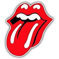 Rolling Stones Tonque Music - Self-Adhesive Sticker Car Window Bumper Vinyl Decal Pegatina Engomada para del Coche