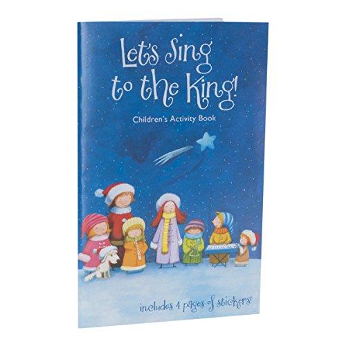 """DaySpring 40955 Aktivitätenbuch mit englischsprachiger Aufschrift""""Let's Sing to the King"""", 16 Seiten, mit 4 Stickern"""