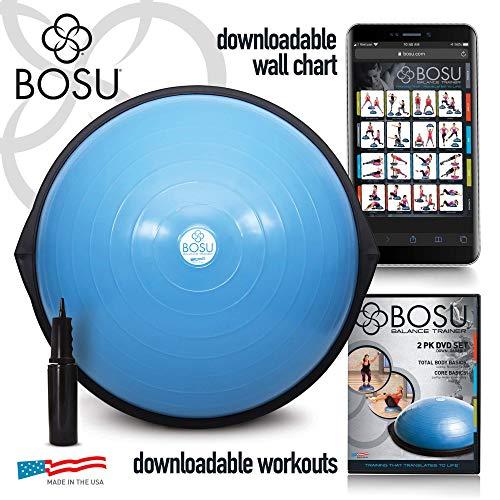 Bosu - Balance Trainer, attrezzo per Esercizi di Equilibrio, Blue
