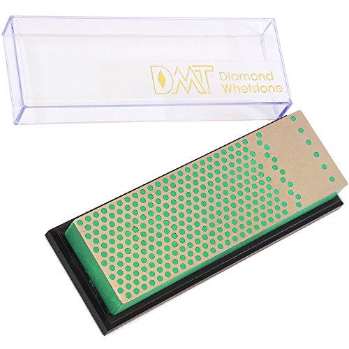 DMT 6-in. Machinist Diamond Whetstone in Plastic Box Extra-Fine Mechaniker Diamant-Schärfstein, extrafein, mit Plastikbox, 15,2 cm/6 Zoll, WM6EP, grün, Nicht Nicht zutreffend Dmt Diamond Whetstone