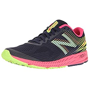 New Balance 1400v5, Zapatillas de Running para Mujer, Azul (Dark Denim/Bright Cherry), 38 EU