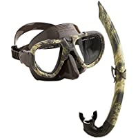 Seac Apnea/pesca submarina combate máscara Snorkel Set