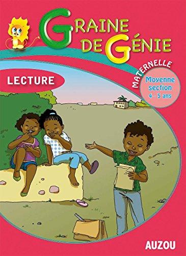 Graine de Génie Lecture Maternelle Moyenne Section 4-5 Ans